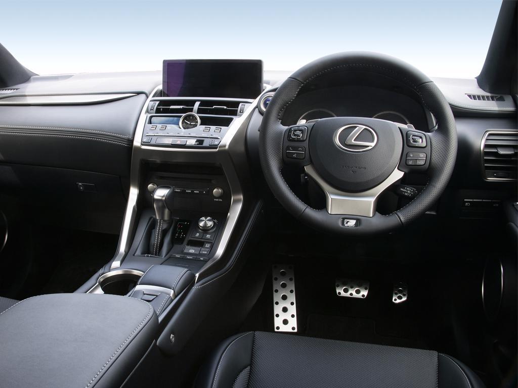 "Lexus NX 300h 2.5 5dr CVT FWD 17 inch Alloy/8"" Nav"
